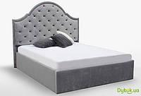Мягкая кровать Милана 1.6 Подъёмная с каркасом