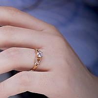 Золотое кольцо для предложения КП1670
