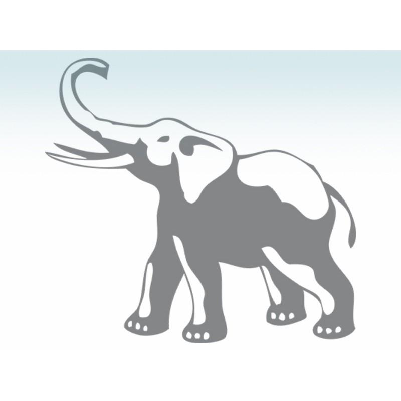 """Наліпка """"Слон"""" / Виниловая наклейка """"Слон"""""""