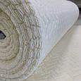 Ткань плюшевая Minky молочного цвета (колосок), фото 4