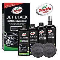 Полироль Turtle Wax Jet Black Box - Finish Kit эксклюзивная технология для черных поверхностей 500мл. 52731
