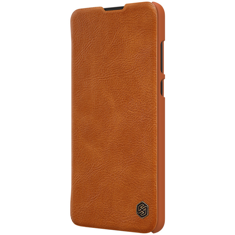 Nillkin Huawei P40 Qin leather case Brown Чехол Книжка