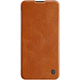 Nillkin Huawei P40 Qin leather case Brown Чехол Книжка, фото 3