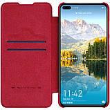 Nillkin Huawei P40 Qin leather case Red Чехол Книжка, фото 3