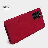 Nillkin Huawei P40 Qin leather case Red Чехол Книжка, фото 5