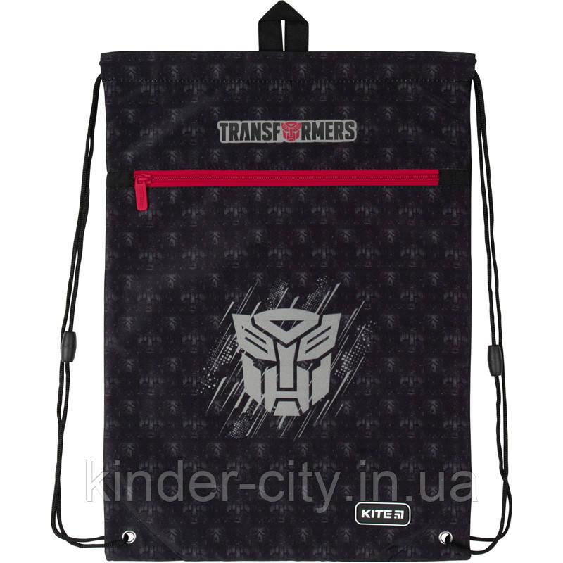 Сумка для обуви с карманом Kite Education Transformers TF20-601M-3