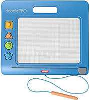 Волшебный Экран Fisher-Price Магнитная доска для рисования GJT93 DoodlePro Slim Blue