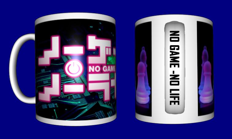 Кружка / чашка No game - no life