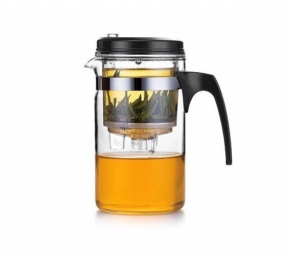 Чайник заварочный стеклянный 500 мл Fissman Gunfu 6533