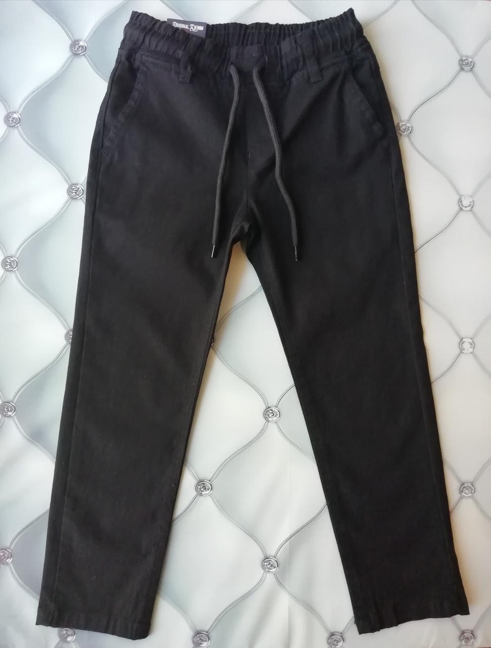 Котонові штани для хлопчика, чорні, Туреччина, р. 6 і 9 років