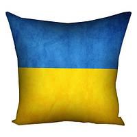 Подушка с принтом Украина