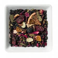 Фруктовый чай с бузиной, брусникой и черникой Ягодная галактика Space Coffee 50 грамм