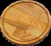 Доска для пиццы 25 см К дуб №9