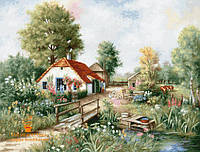 Набор для вышивки крестом Luca-S BU4011 «Деревенский пейзаж»