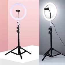 Яркий кольцевой свет 20 см. Селфи лампа I Кольцевая лампа. Штатив 2 м.