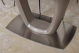 Розкладний стіл OTTAWA (Оттава) 140/180 матове скло мокко Nicolas (безкоштовна адресна доставка), фото 10