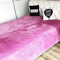 Плед Colorful Home полоска200/220 сиреневый