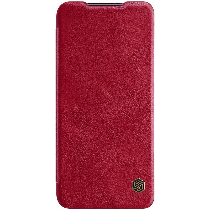Nillkin Xiaomi 10X 5G/10X Pro 5G Qin leather case Red Чехол Книжка