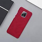 Nillkin Xiaomi 10X 5G/10X Pro 5G Qin leather case Red Чехол Книжка, фото 6