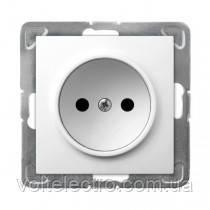 Розетка без заземлення OSPEL IMPRESJA 250V/16A GP-1Y/m/00 білий