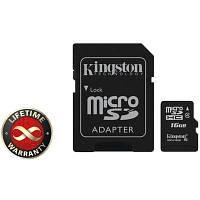 Miсro-SDHC memory card 16GB Kingston (SDC4/16GB) class 4