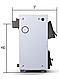 Твердотопливный котел ProTech Econom TT 15 кВт из котловой стали 2 мм с чугунными колосниками, фото 3