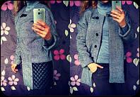 Пальто женское твидовое , купить пальто