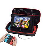 Monster кейс сумка для Nintendo Switch / Есть стекло, фото 2