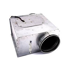 Вентилятор канальний прямокутний для круглих каналів ВКП-к 100, фото 2