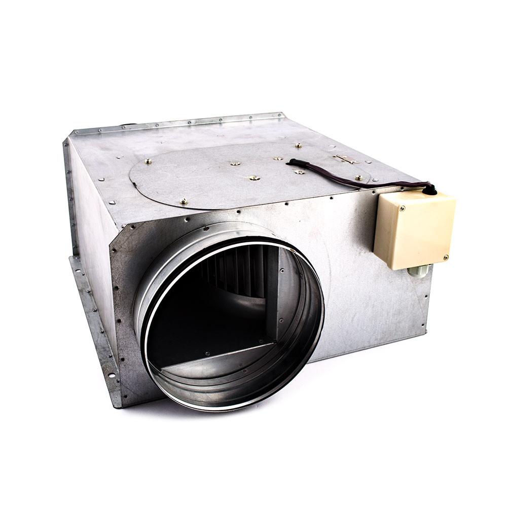 Вентилятор канальний прямокутний для круглих каналів ВКП-к 125
