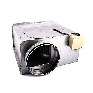 Вентилятор канальний прямокутний для круглих каналів ВКП-к 125, фото 2