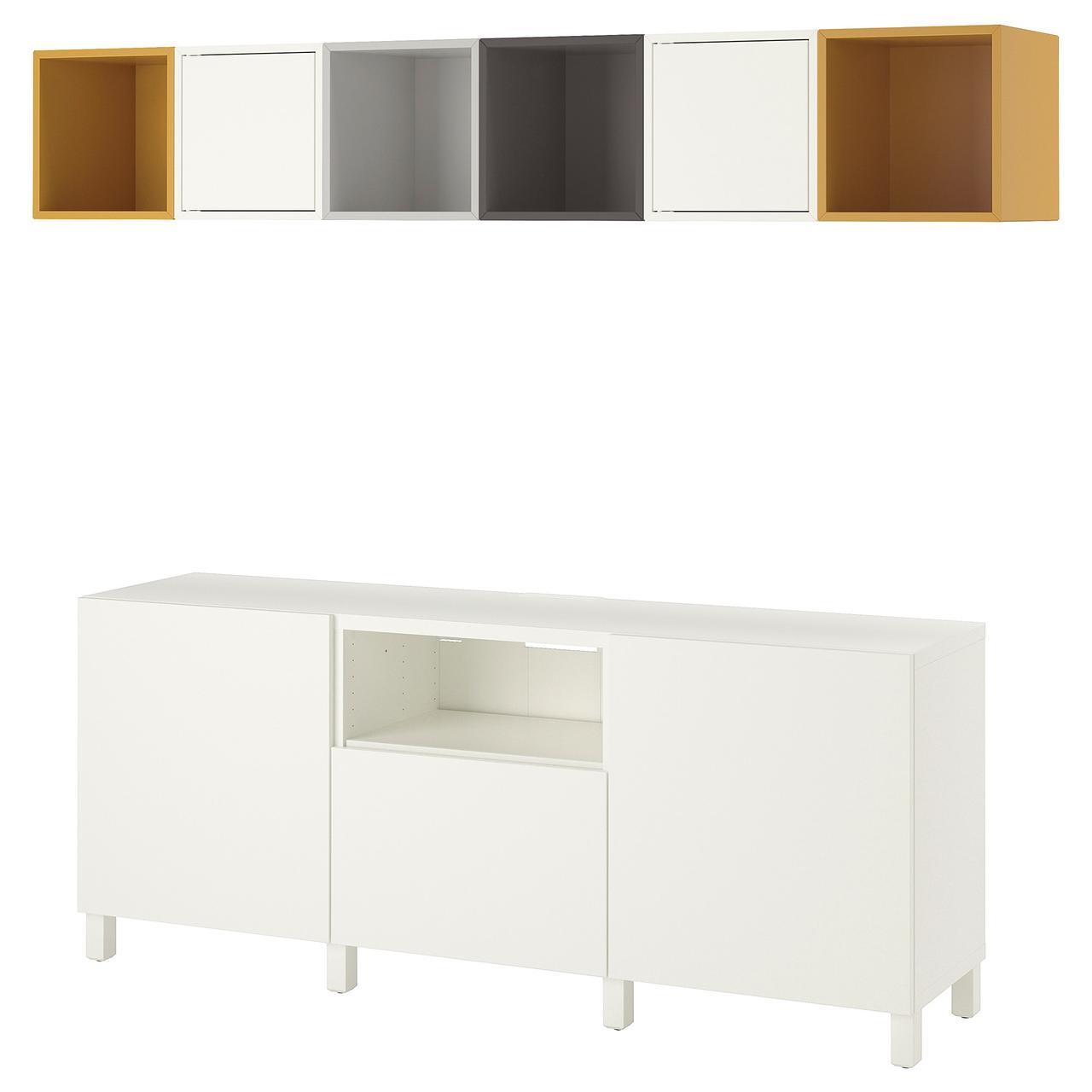 IKEA EKET Комбинация шкафов под ТВ
