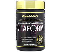 Витамины AllMax Nutrition Vitaform Multivitamin For Women, 60 Tablets