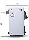 Твердотопливный котел ProTech Econom TT 18 кВт из котловой стали 2 мм с чугунными колосниками, фото 3