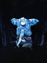 Авторська лялька ОКОМОН МОСКИТОС текстиль, ручна робота 25см