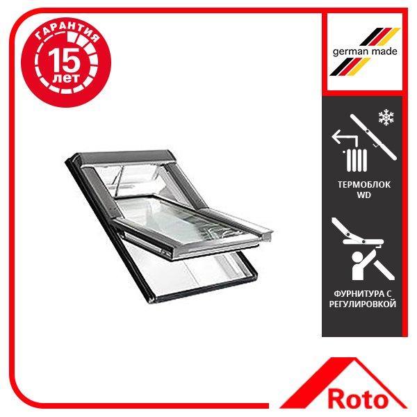 Вікно мансардне Designo WDT R45 K W WD AL 09/14 EF