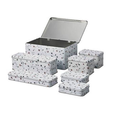 ФЛАТЭН Набор банок, 7 штук, 70089697, ИКЕА IKEA, FLATTEN, фото 2