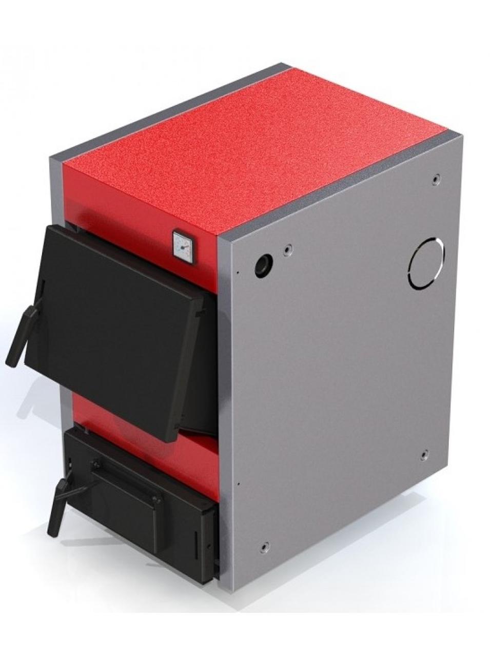Твердотопливный котел ProTech Standard plus ТТ 12 кВт из котловой стали 3 мм с чугунными колосниками