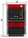Твердотопливный котел ProTech Standard plus ТТ 12 кВт из котловой стали 3 мм с чугунными колосниками, фото 4