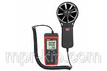 Анемометр Uni-t UT363S (от 0,4 м/с до 30 м/с; ±0,01 м/с; от -10ºC до 50ºC) Цена с НДС