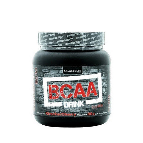 Амінокислоти БЦАА Energy Body BCAA Drink 500 g в порошку