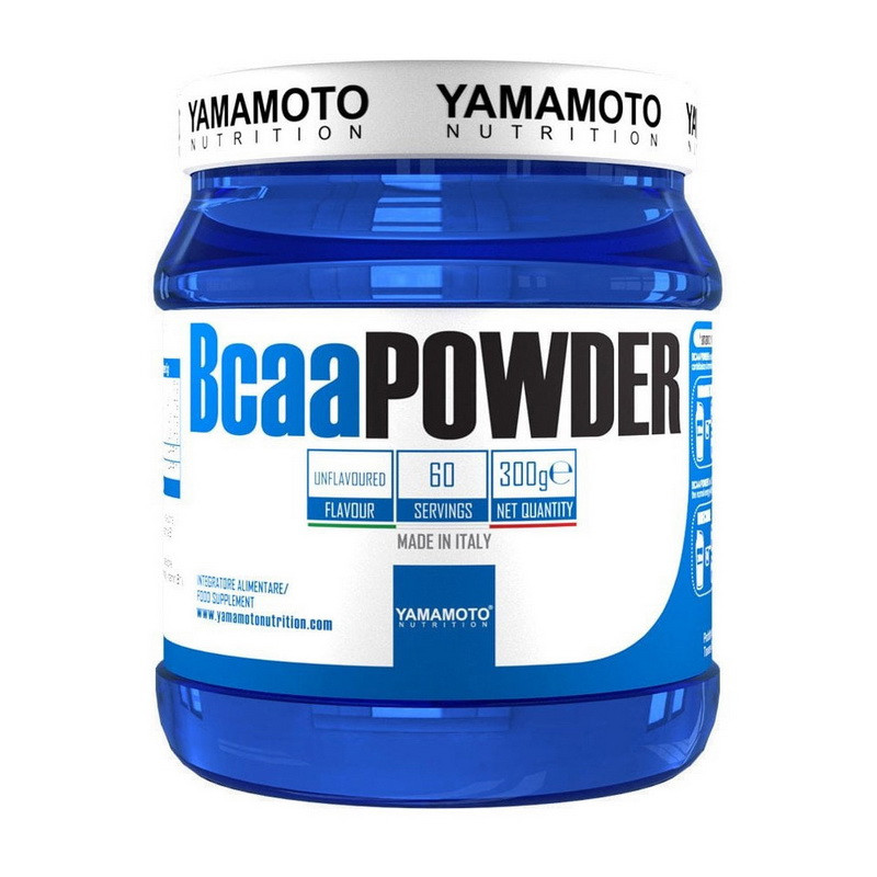 BCAA аминокислоты Yamamoto nutrition Bcaa Powder 300 g