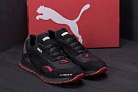 Мужские кожаные кроссовки в стиле Puma  Red Star / 40-45, ПК-П ч/к