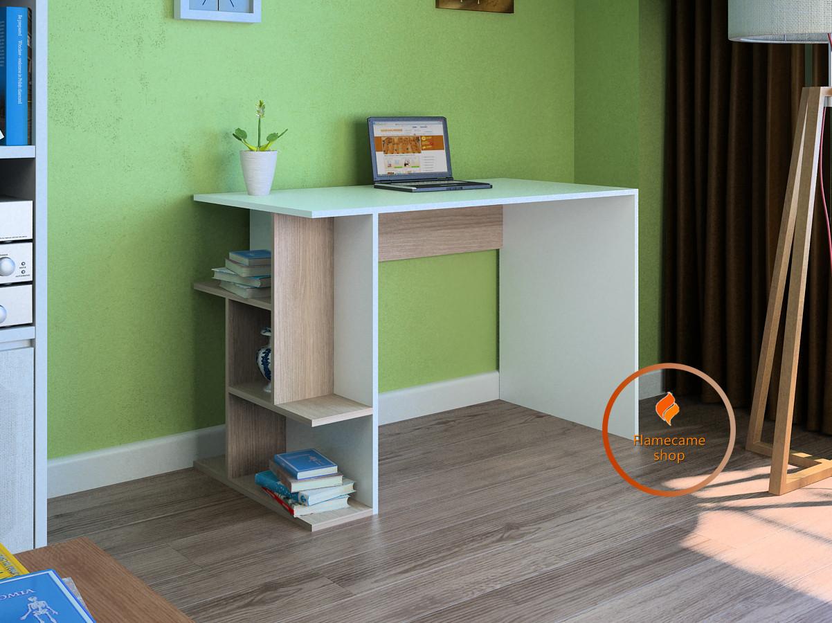 Комп'ютерний стіл з полицями з ДСП. Код: LG-28-3192