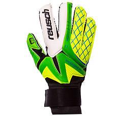 Перчатки вратарские юниорские FB-853B REUSCH Салатовый-зеленый размер 7, фото 3