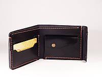 Гаманець, кожаный кошелек «Stunner», мужской кожаный кошелек натуральна шкіра, ручна робота