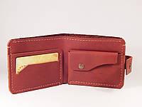 Шкіряний гаманець «Stunner», натуральна шкіра, ручна робота, фото 1