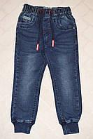 Джинсовые брюки джоггеры для мальчика 98рост (98,104,110,116,122,128) Taurus T-23