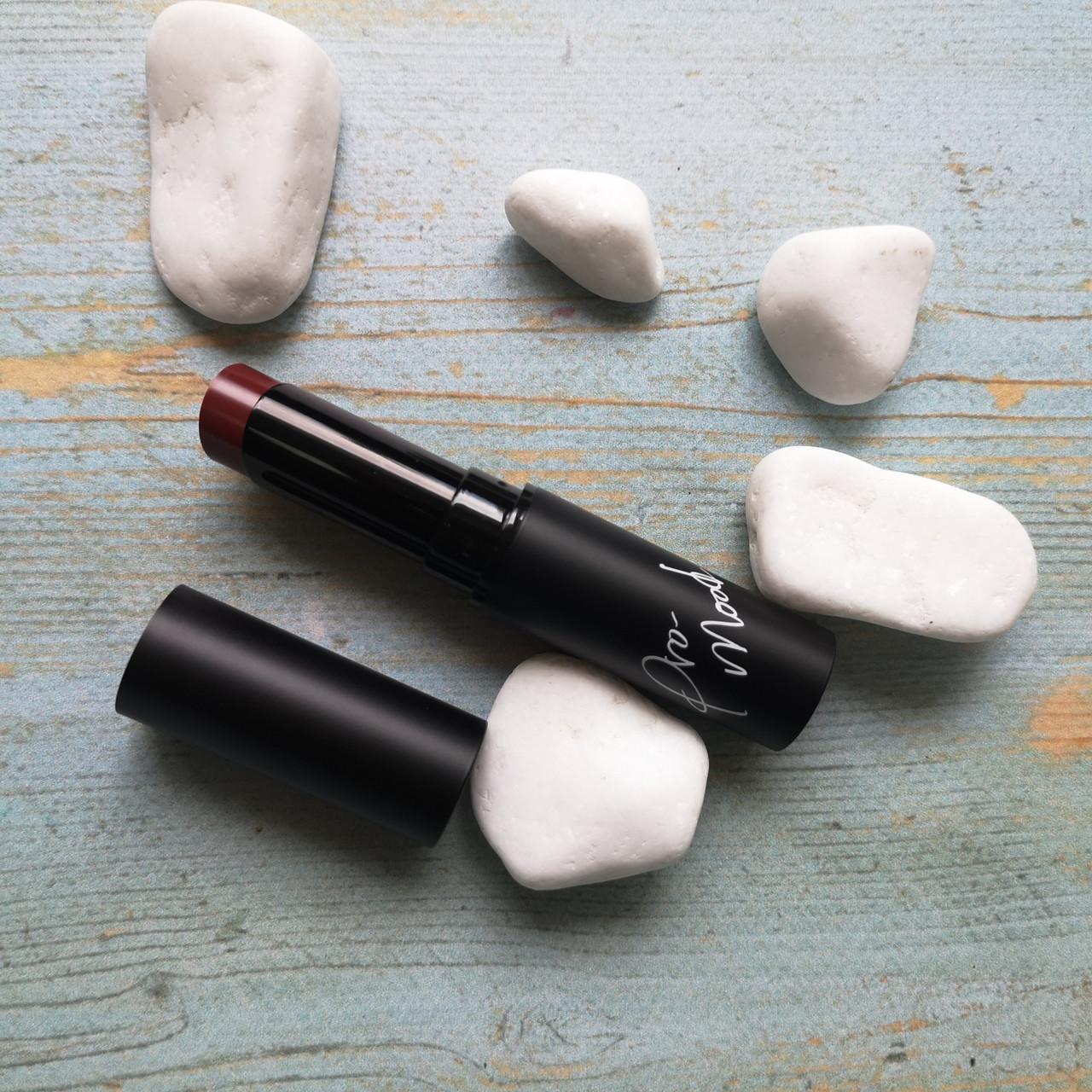 Ottie Матовая губная помада 07 Bloody wine Promood Lipstick Cashmere Matte