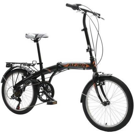 Велосипед городской ATALA Blue Lake 6B Black/Orange